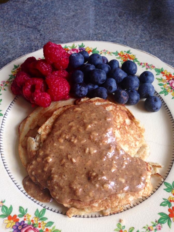 Two Ingredient Gluten/Dairy/Sugar Free Pancakes