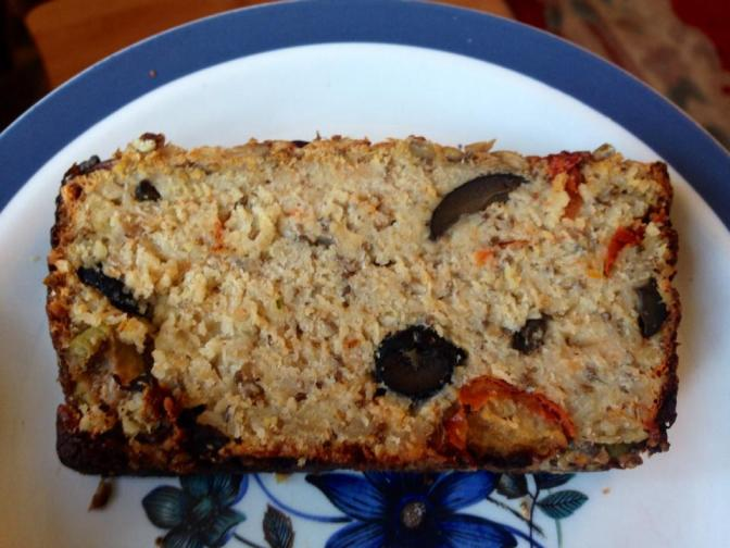 GOODBYE BREAD CRAVINGS – Introducing simple olive and sundried tomato bread